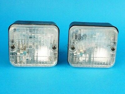 2 x AJBA Reverse / Reversing Lamp Light 12v Flush Surface Mounted FR30