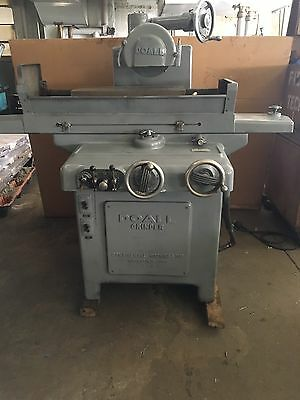"""Doall Hydraulic Surface Grinder 8"""" X 24"""" With Coolant Tank"""