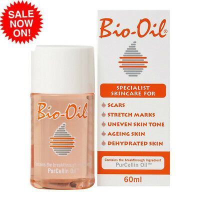 Bio-Oil 60ml  with PurCellin Oil for Scars Stretch Marks Aging Skin Tone