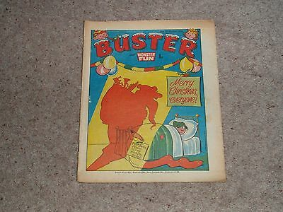 Buster Christmas Issue 30th December 1978