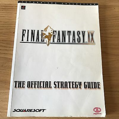 Final Fantasy IX Official Strategy Guide PS1 Piggyback Book | RPG PlayStation
