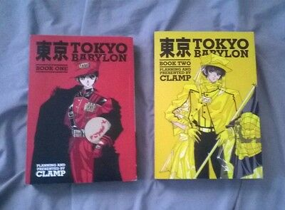 Tokyo Babylon: Book One and Book Two (X 1999) manga by CLAMP in English