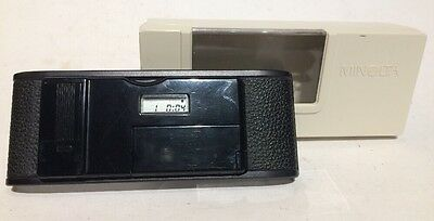 MINOLTA QUARTZ DATA BACK 1 w/ Plastic Case • for Minolta X-700