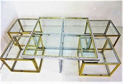 Table basse design  XXème Maison Charles Nesting Table coffee table