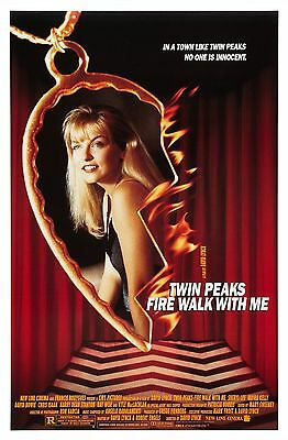 Twin Peaks: Fire Walk With Me (1992) Original Movie Poster  -  Rolled