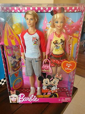 Mattel Ken and Barbie Going to Disney Doll NEW IN BOX