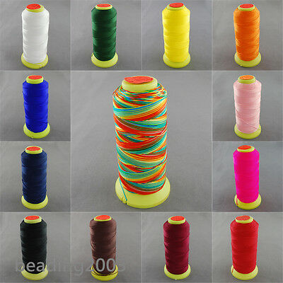 1 Roll 0.8mm Strong Nylon Thread Sewing Threads Jewellery Cords Spool 300m/roll