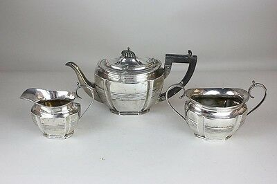 Antique Solid Sterling Silver Tea Set
