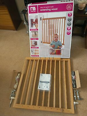 Mothercare Wooden Extending Safety Gate