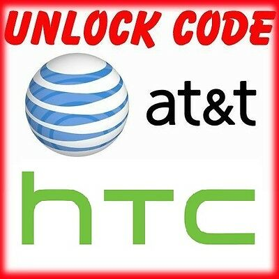 AT&T HTC FACTORY UNLOCK CODE SERVICE HTC ONE A9 M9 M8 M7 HTC Desire ALL MODELS