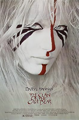 The Clan Of The Cave Bear (1986) Original Movie Poster  -  Rolled