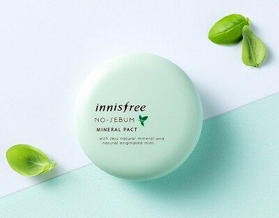Innisfree No Sebum Mineral Pact (FREE SHIPPING)