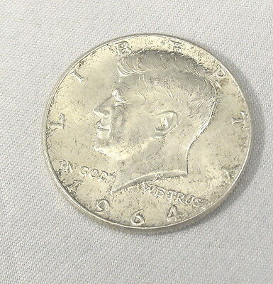 1964 Silver Kennedy Half Dollar Extremely Nice W/ Very Nice  Luster #170