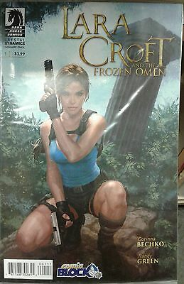 Lara Croft aAnd The Frozen Omen #1 Comic Block