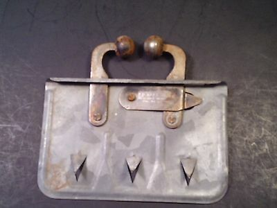 Vintage Kees Calf Weaner Tool Device Nose Clamp Spiked Calf Farm Ranch Cow Metal