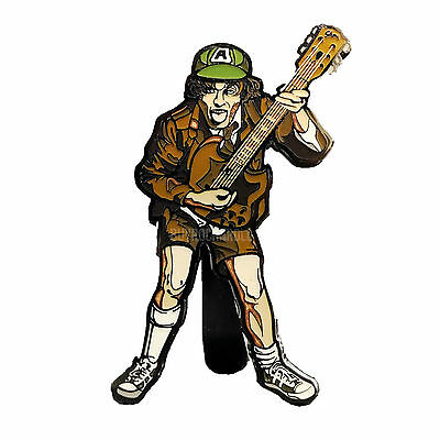 AC/DC Collectibles: 2017 FiGPiN High Voltage Angus Young Enamel Figure Pin