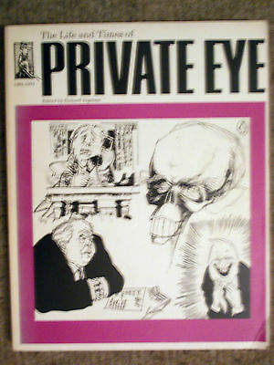 The Life and Times of Private Eye - a large paperback book by Eichard Ingrams