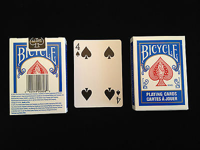 Bicycle Invisible card deck - Standard Red or Blue back
