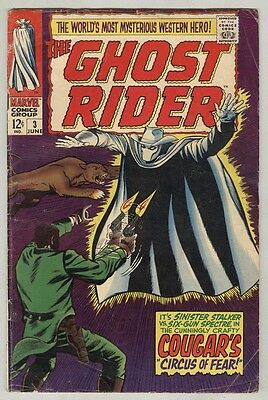 Ghost Rider #3 June 1967 VG The Cougar