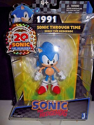 (NEW IN BOX) 1991 Sonic Through Time Mini Action Figure by Jazzwares, Inc