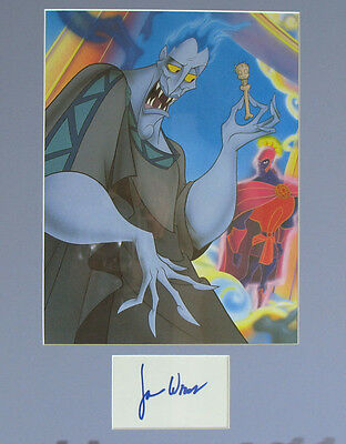 James Woods Autograph - Voice of Hades in Hercules