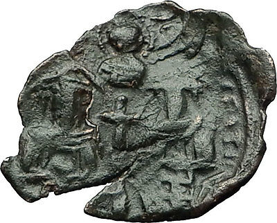 Palaeologus Dynasty 1259-1453AD - Trachy Authentic Ancient Byzantine Coin i59387