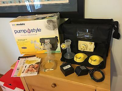 Medela™ 'Pump In Style'  Original Double Electric Breast Milk Pump ~ VERY GOOD