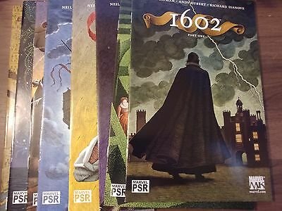 1602 by Neil Gaiman Andy Kubert Richard Isanove #1-8 (1,2,3,4,5,6,7,8) VF-NM Set