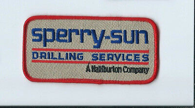 Sperry-Sun Drilling Services a Halliburton Company patch 2-1/4 X 4-1/2 #1600