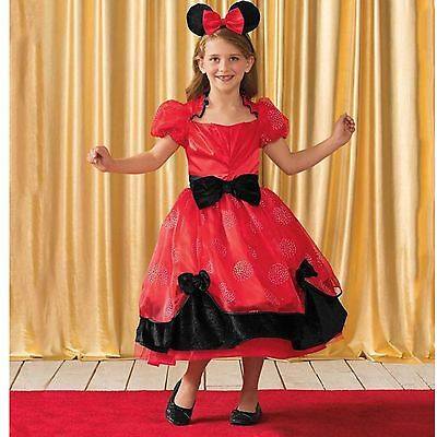 ❤️ New! Chasing Fireflies Disney Minnie Mouse Costume Dress Up Sz 8 $130.00