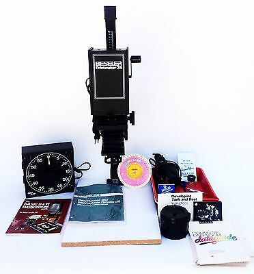 Beseler Printmaker 35 Photo Enlarger w/ Negative Tray Cra lab Timer Accessories