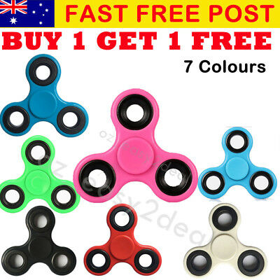 3D Fidget Hand Finger Spinner EDC Focus Stress Reliever Toys For Kids Adults