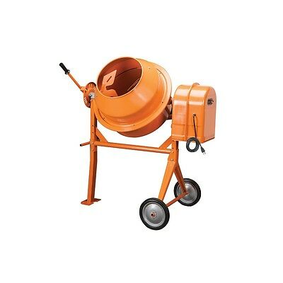 New LARGE CEMENT CONCRETE STUCCO ELECTRIC MIXER 3 1/2 Cubic Feet Foot