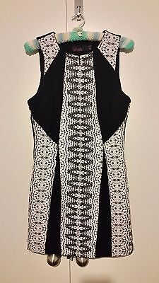 WISH black and white dress, size 12/medium, Excellent condition
