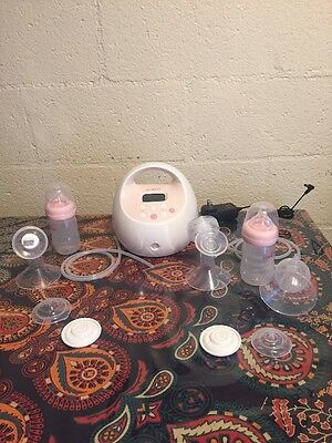 Spectra S2 Hospital Strength Breast Pump, Pink  Clean
