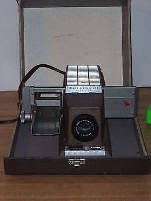 Bell & Howell Slide Projector Model 706 Vintage with original case