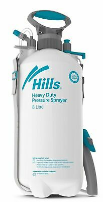 Hills 8 Litre Industrial Sprayer Heavy Duty 8L Garden and Chemical Sprayer