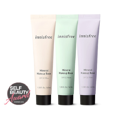 Innisfree Mineral Make Up Base SPF 30 PA++ - 40ml (FREE SHIPPING)