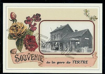 TERTRE  ..... gare souvenir creation moderne serie limitee numerotee