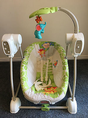 Fisher Price Rainforest Friends Swing and Seat