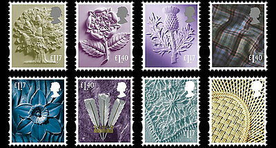 """Great Britain- 2017 """"Country Definitives"""" Set"""