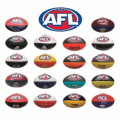 Official AFL Footy Team 20cm PVC Mini Football