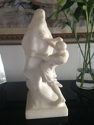 Alabaster Marble Family Heirloom Statue