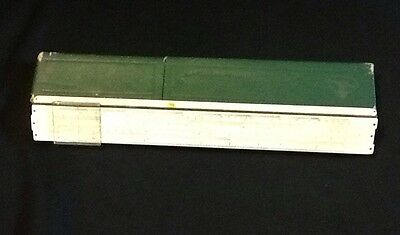 Vintage Faber Castell Bamboo Slide Rule 1/87 Made In Germany