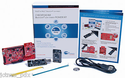 CYPRESS CY8CKIT-042-BLE PSOC 4 BLUETOOTH LOW ENERGY Pioneer Kit psoc4 psoc6