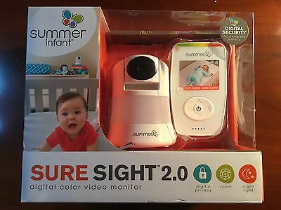 New Summer Infant Sure Sight 2.0 Video Monitor - Brand new