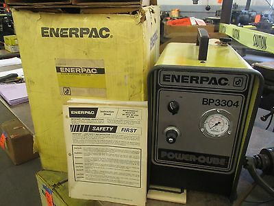 Enerpac BP-3304 Air Hydraulic Booster/intensifier - NEW in the Box!