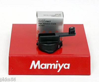 Mamiya 645 PRO TL, 645 PRO, 645 SUPER FILM ADVANCE CRANK