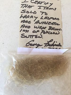 POPCORN SUTTON's (DNA) Beard Trimmings Of The MOONSHINE BOOTLEGGER TENNESSEE