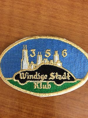 Porsche 356 Windige Stadt Klub Patch NEW